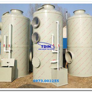tháp rửa khí pp